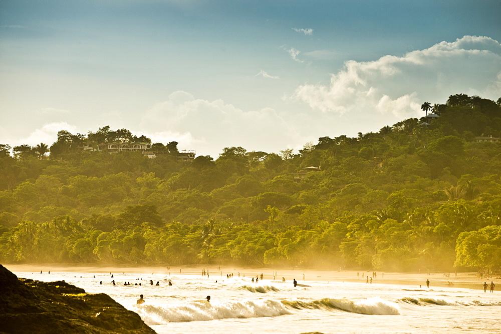 A beach scene in Costa Rica.