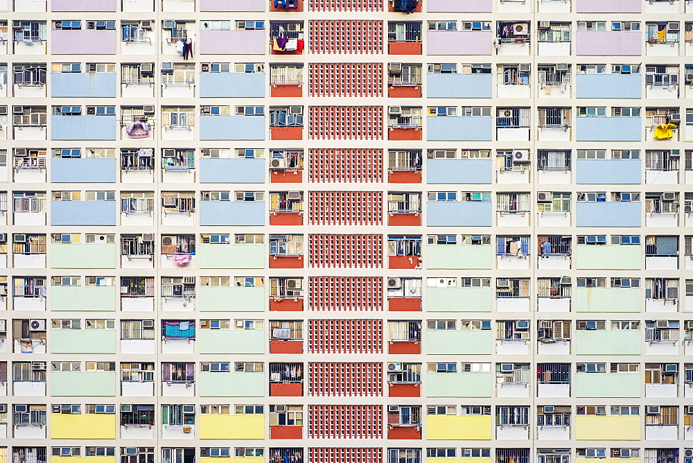 Choi Hung Estate, one of the oldest public housing estates in Hong Kong