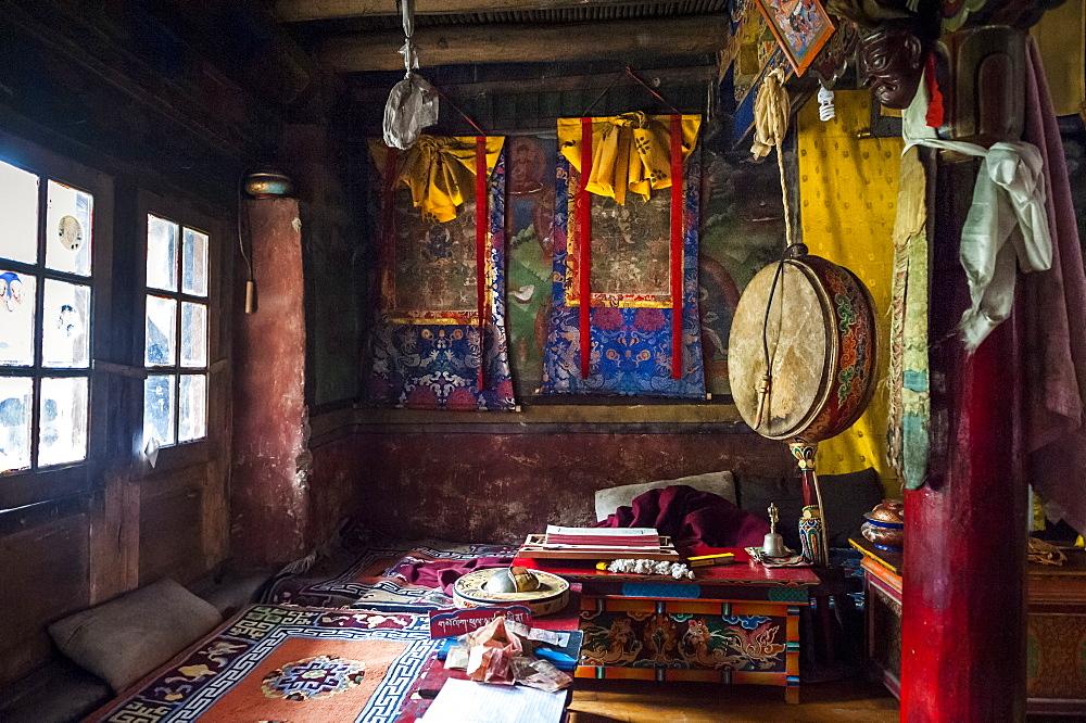 A small gompa, Ladakh, India. - 857-91621