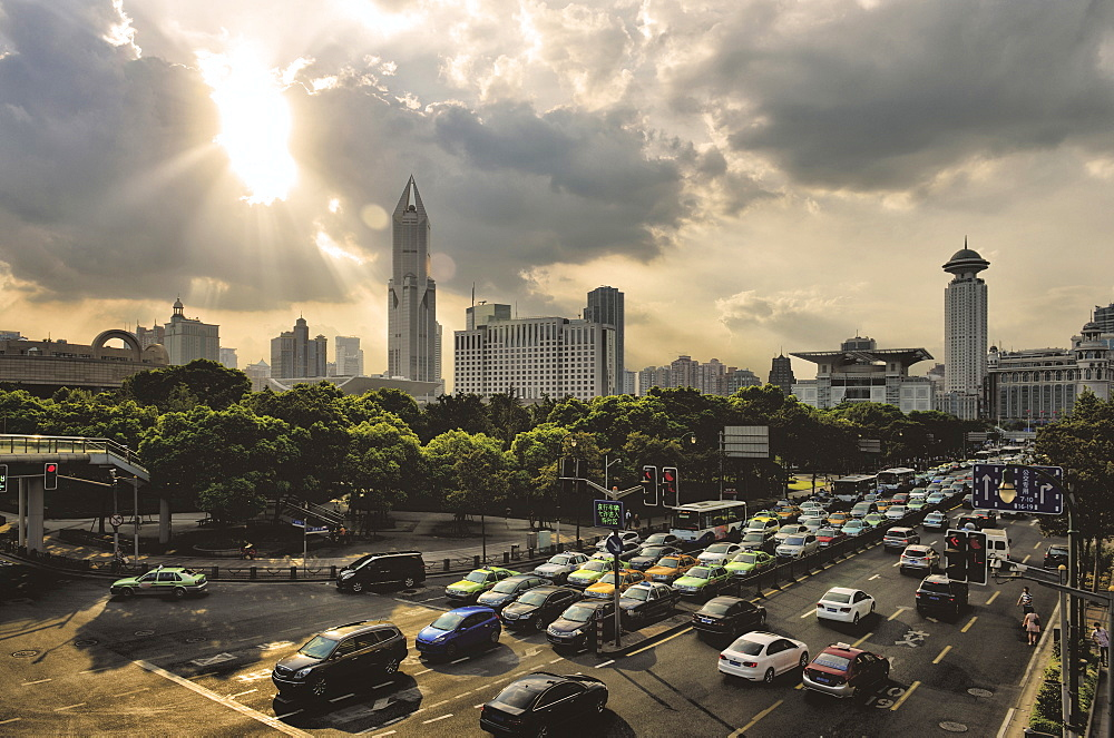 Traffic Stops (Shanghai)