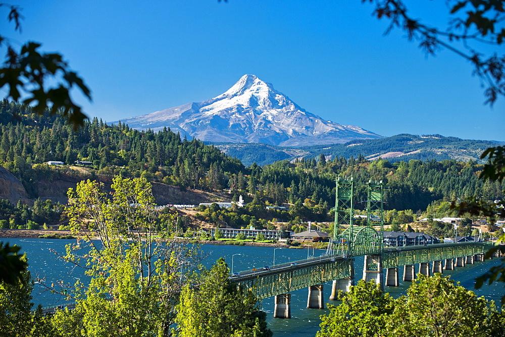 Mt. Hood and Hood River, Oregon.