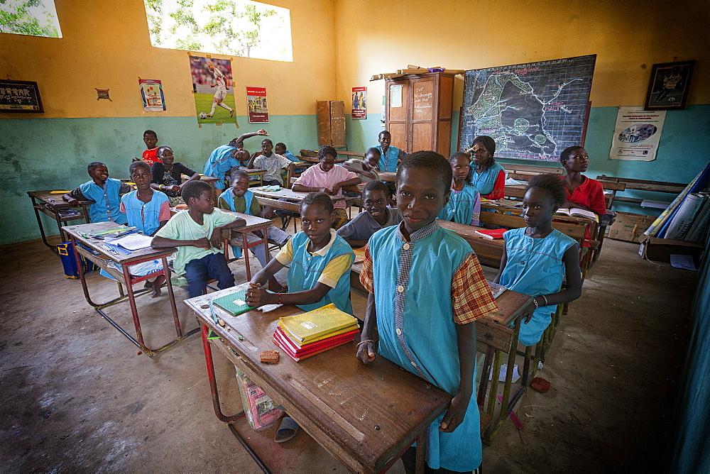 Afiniam school children, Casamance, Senegal