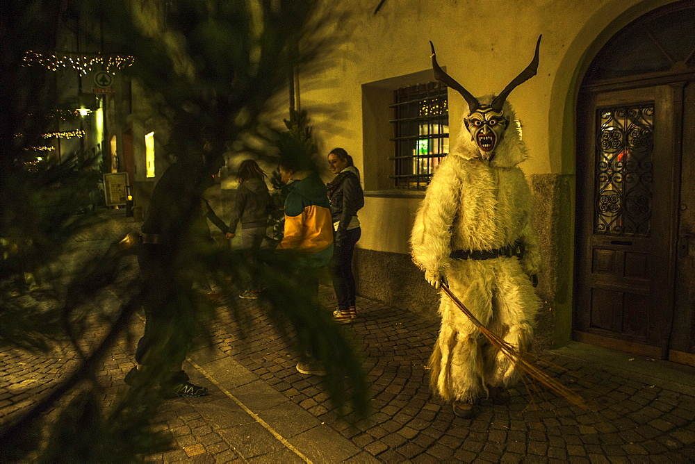 The Krampus Celebration In South Tirol Italy