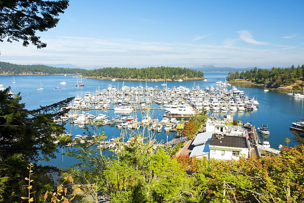 Roche Harbor On San Juan Island, Washington, Usa