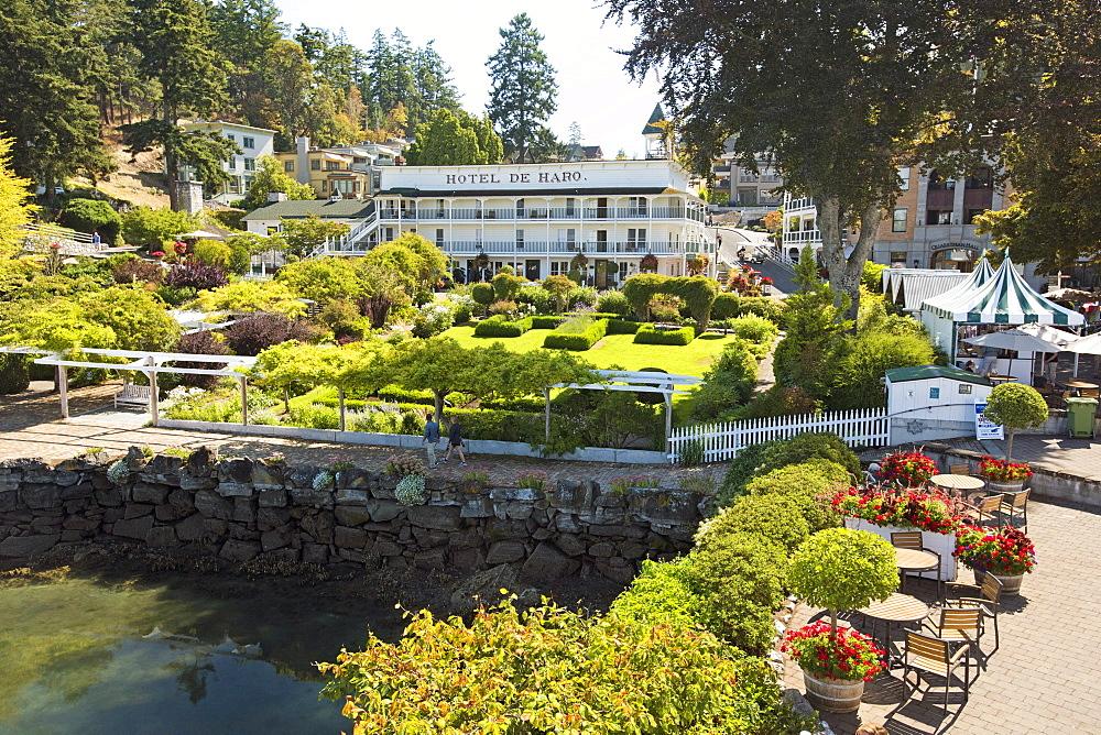 Hotel De Haro In Roche Harbor On San Juan Island, Washington