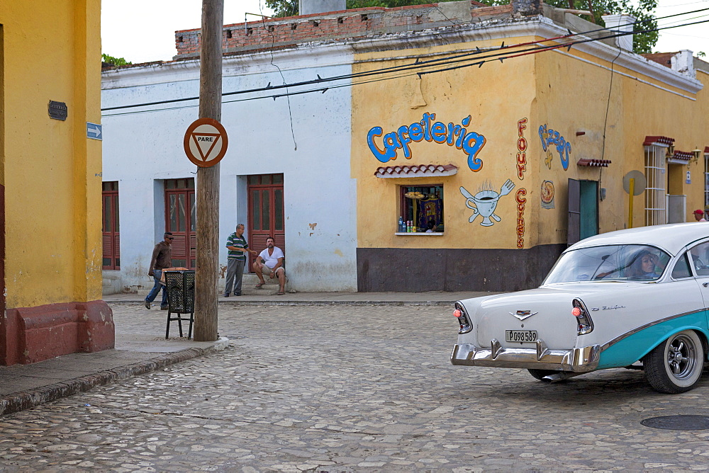 Old Cars In The Streets Of Trinidad, Cuba