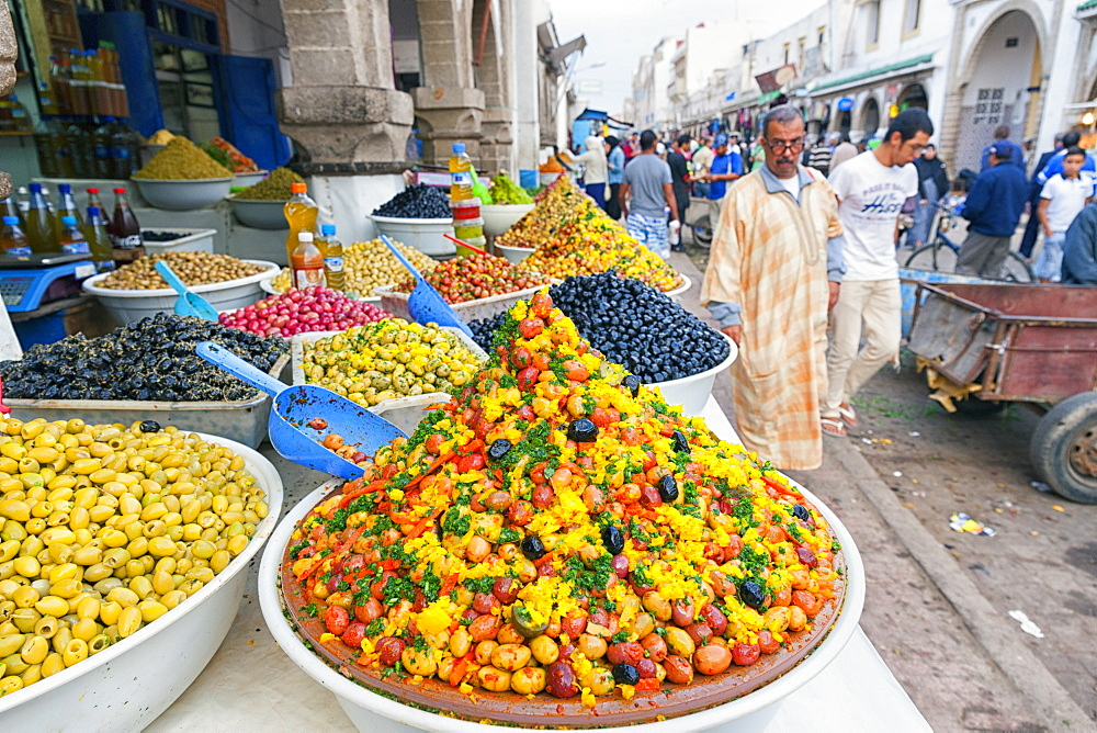 Olives In The Market Of Marrakech, Morocco