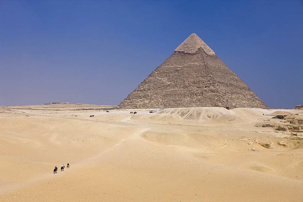 Pyramid of Khafra, Cairo, Egypt - 857-94692