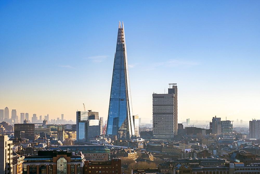 The Shard skyscraper, Southwark, London, England, UK