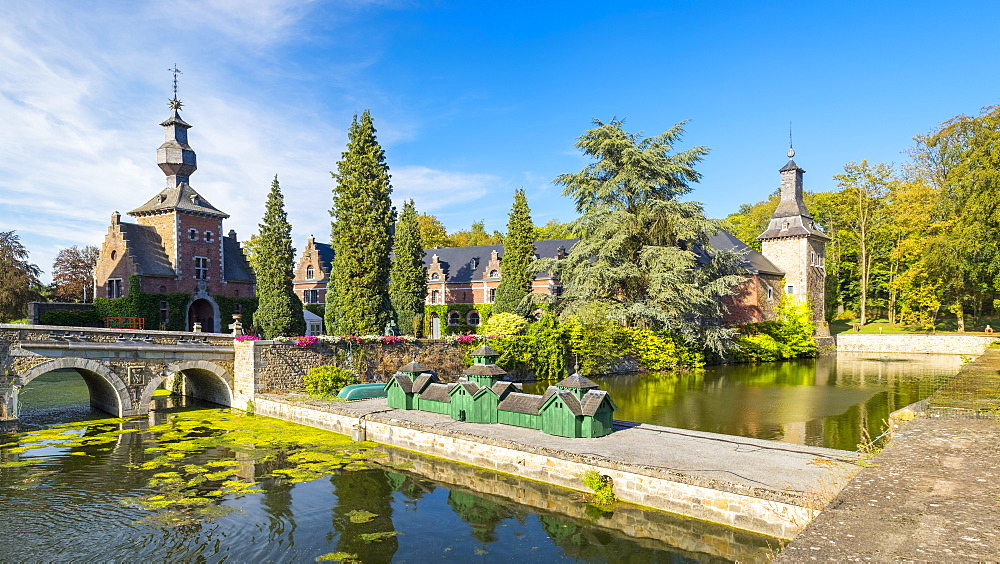 Jehay-Bodegnee Castle, Amay, Wallonia, Belgium