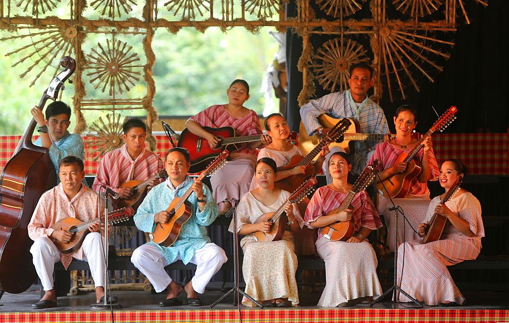 Music band, Villa Escudero, Manila, Laguna, Luzon Island, Philippines