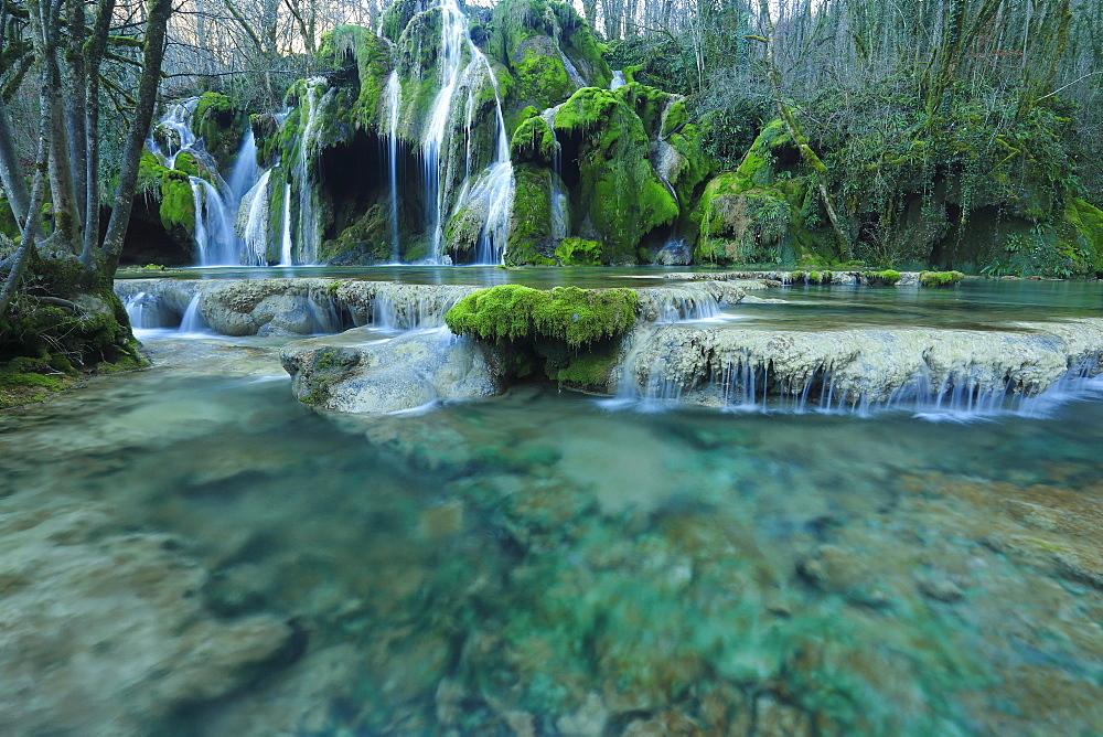 Cascade Tufs - Jura, France