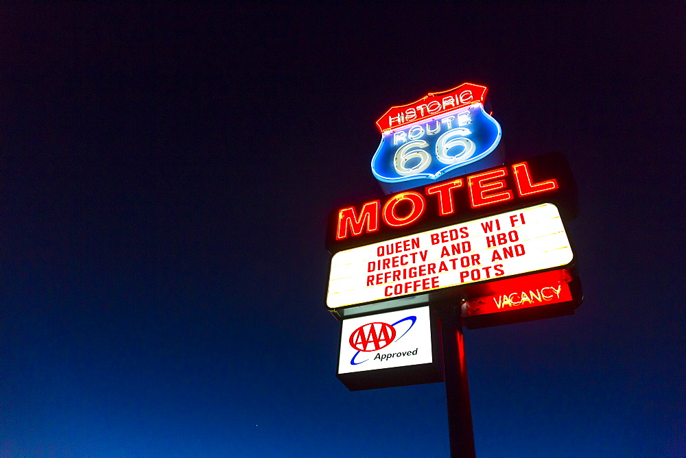 Seligman, U.S. Route 66 (US 66 or Route 66), Arizona, USA, Am?rica