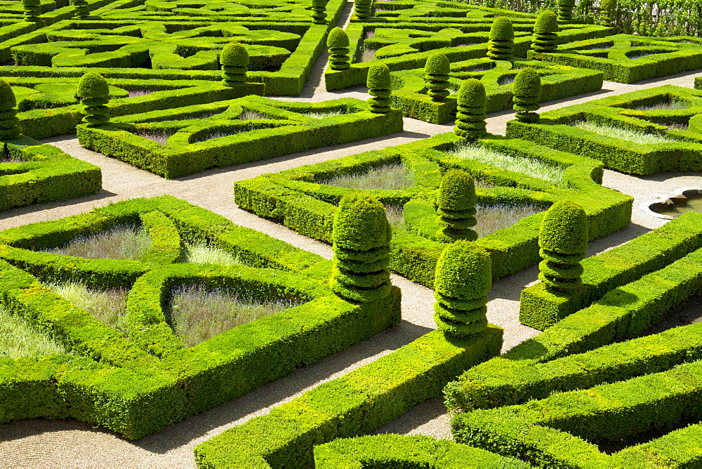 Gardens of Villandry Castle, France