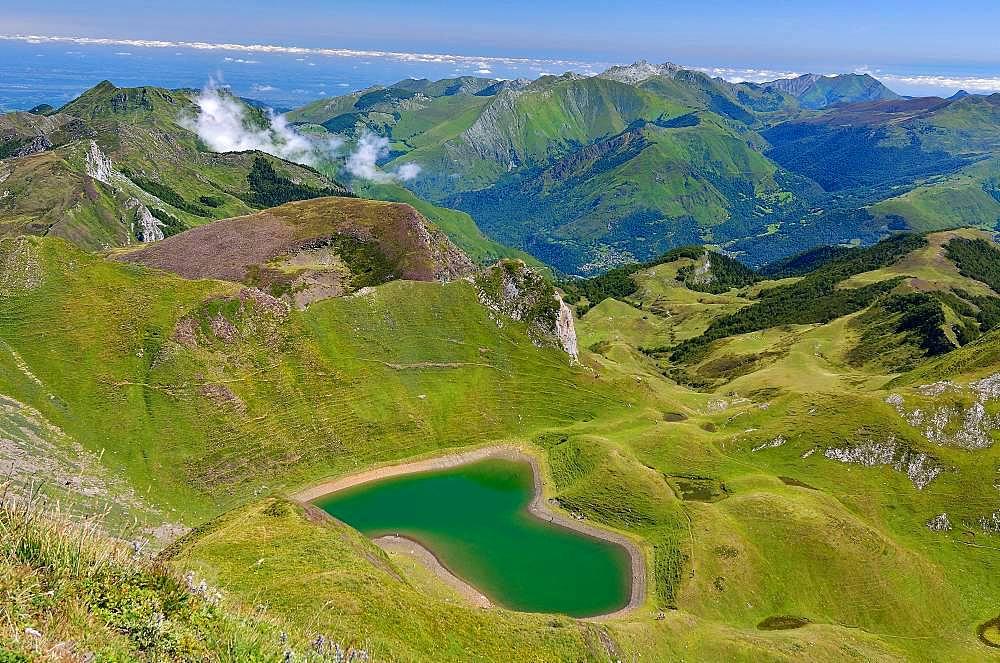 Montagnon Lake, Ossau Valley, Pyrenees, France