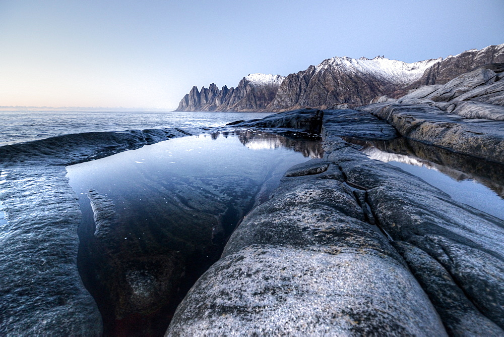 Devil's teeth, Senja, Troms, Norway