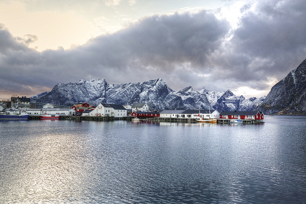 Hamnøy, Moskenes, Lofoten Islands, Nordland, Norway