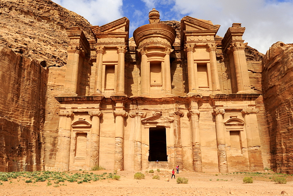 Ad Deir, monastery of the ancient city of Petra, Jordan