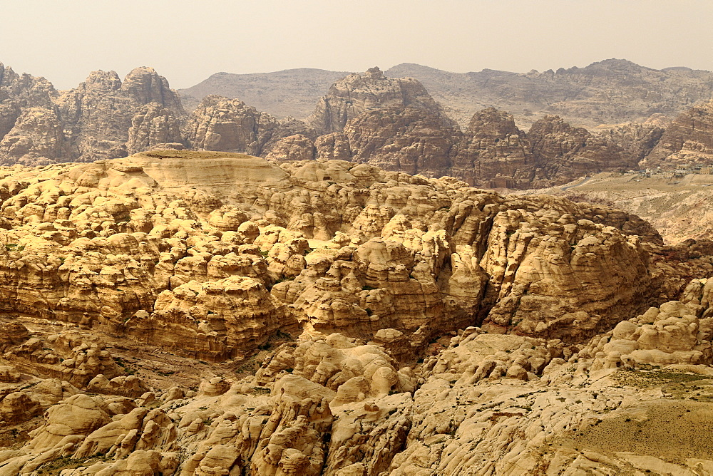 Jordan mountains in the Petra region.