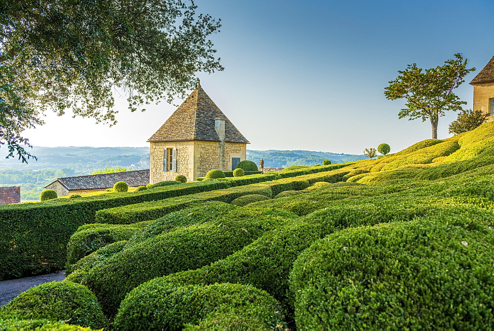 The gardens of Marqueyssac, Vézac, Dordogne, France