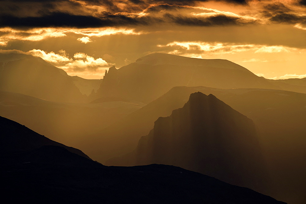 The Sydkap Mountains, North East Greenland