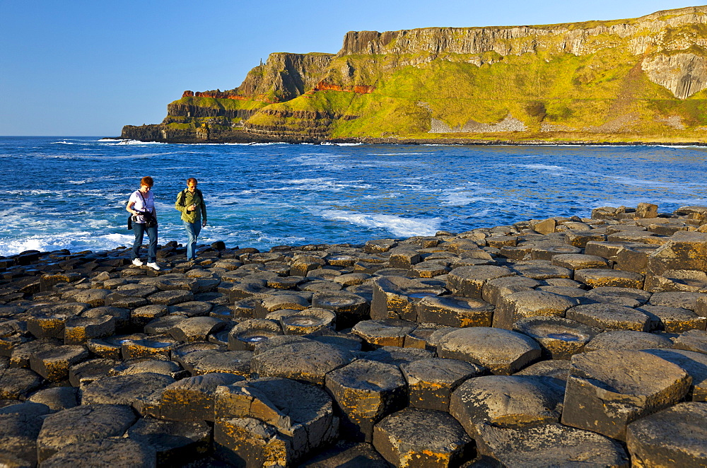 The Giant's Causeway is located on the northern coast of County Antrim UNESCO world heritage Culture Ocean Scenery