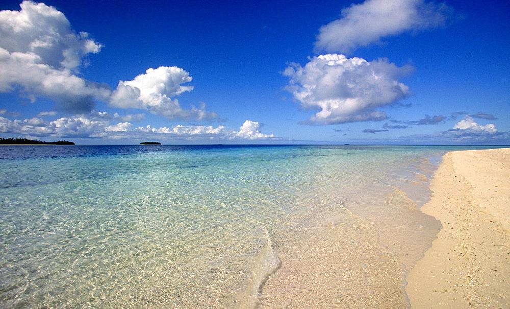 South Seas Tonga Islands coast ocean holiday paradise
