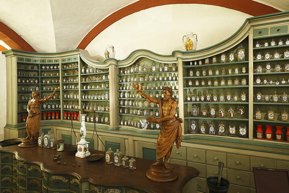 old historical pharmacy in pharmacy museum - 869-5472