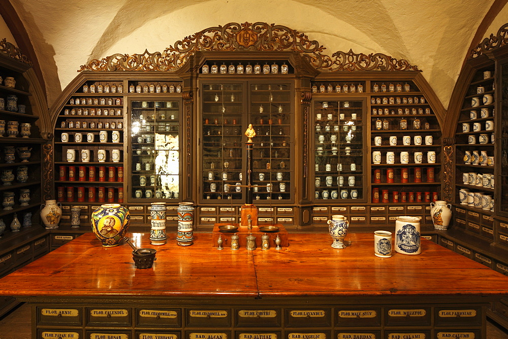old historical pharmacy in pharmacy museum  - 869-5474