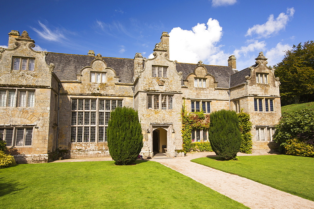 Trerice an Elizabethan Manor house near Newquay in Cornwall.