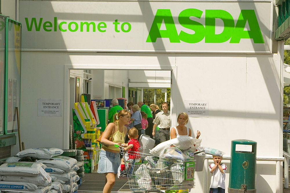 An Asda Walmart supermarket in Carlisle, Cumbria, England, United Kingdom, Europe