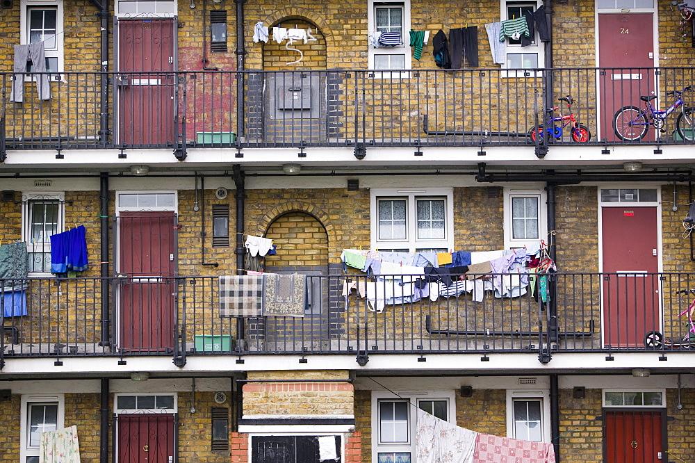 Tower Hamlets, a poor sink estate, London, England, United Kingdom, Europe