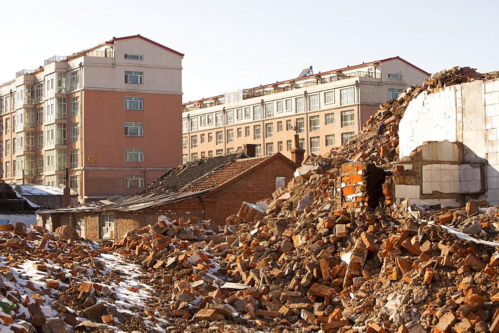 City of Suihua in Heilongjiang province, China, Asia