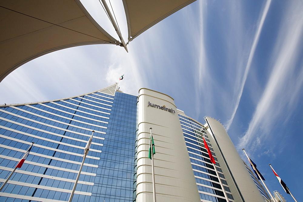 The Jumeirah hotel in Dubai, United Arab Emirates, Middle East