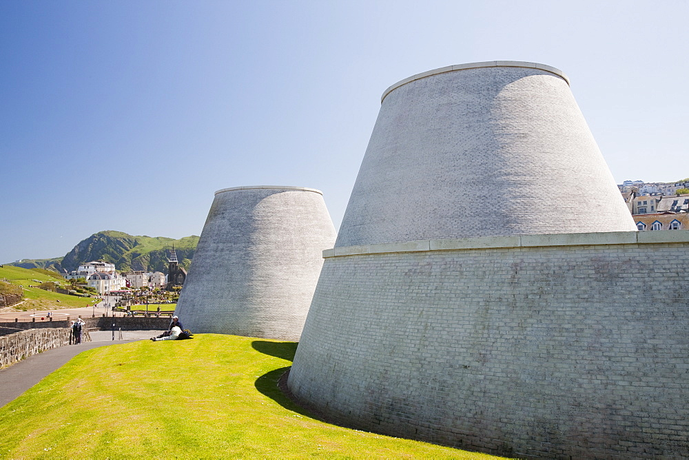 A theatre and visitor centre in Ilfracombe, North Devon, England, United Kingdom, Europe