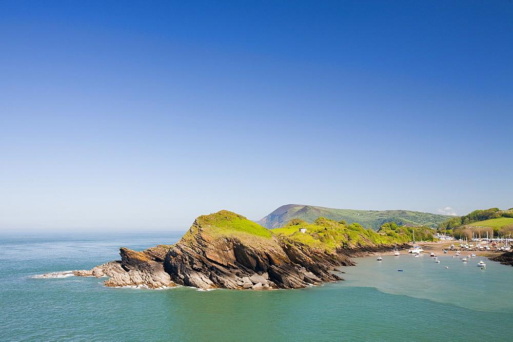 Watermouth Cove on the north Devon coast near Ilfracombe, Devon, England, United Kingdom, Europe