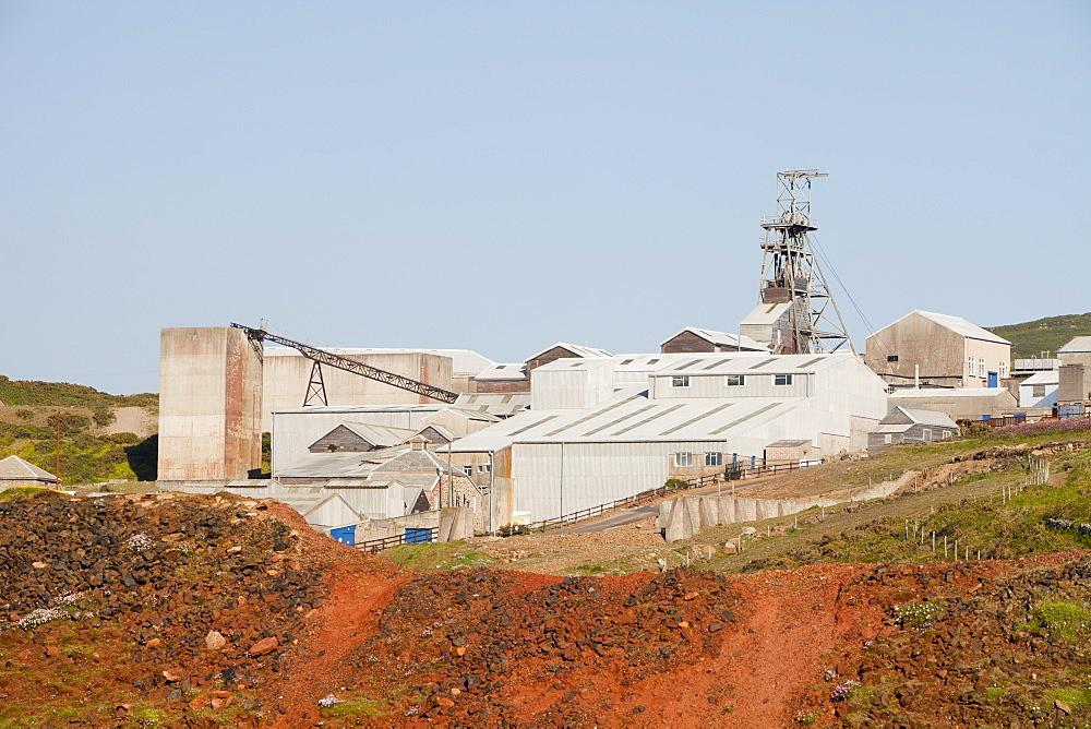 Geevor tin mine near St. Just, Cornwall, England, United Kingdom, Europe