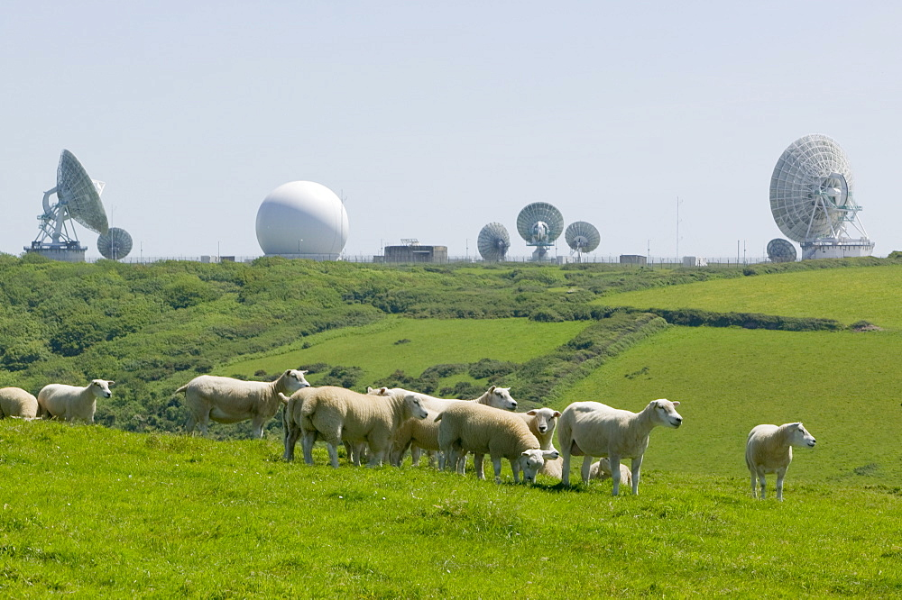 An early warning radar station near Kilhampton, Devon, England, United Kingdom, Europe