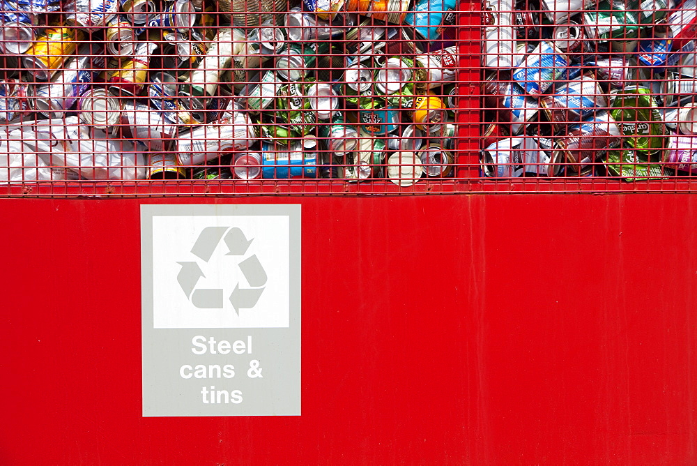 A recycling facility on Barrow Island in Barow in Furness, Cumbria, England, United Kingdom, Europe - 911-5380