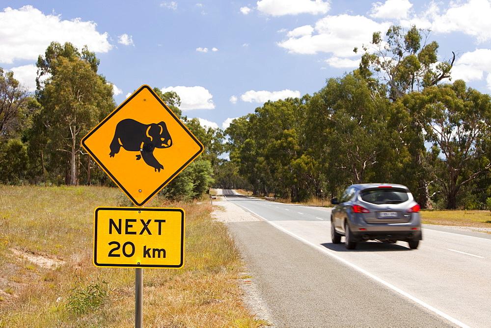 Road signs near Bonnie Doon in Victoria, Australia, Pacific