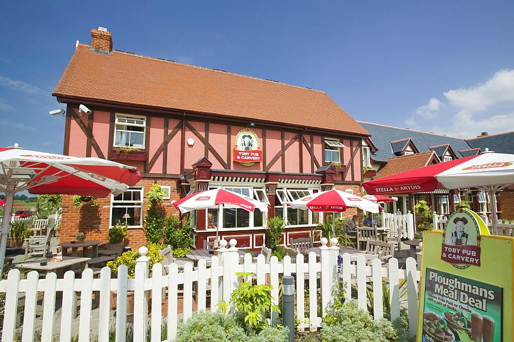 A Toby Inn Restaurant in Carlisle, Cumbria, England, United Kingdom, Europe