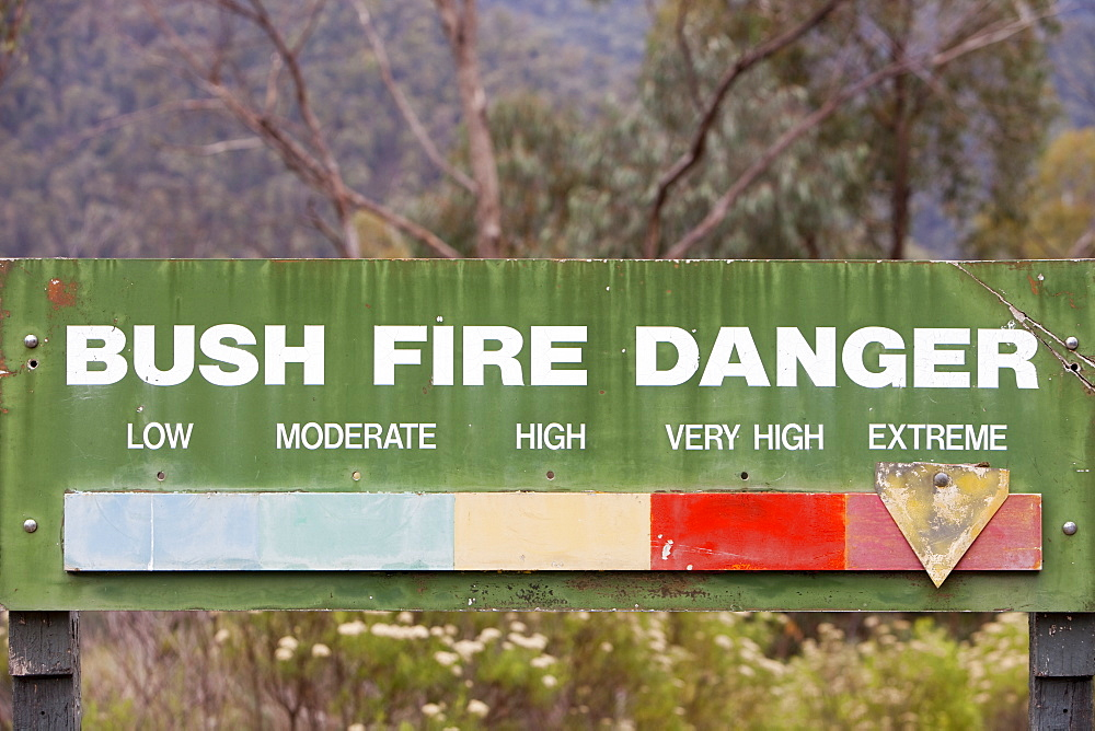 Extreme fire conditions in the Snowy Mountains, New South Wales, Australia, Pacific - 911-5915