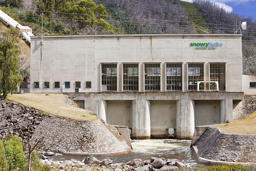 Guthega power station, part of the Snowy Mountains hydro scheme, New South Wales, Australia, Pacific