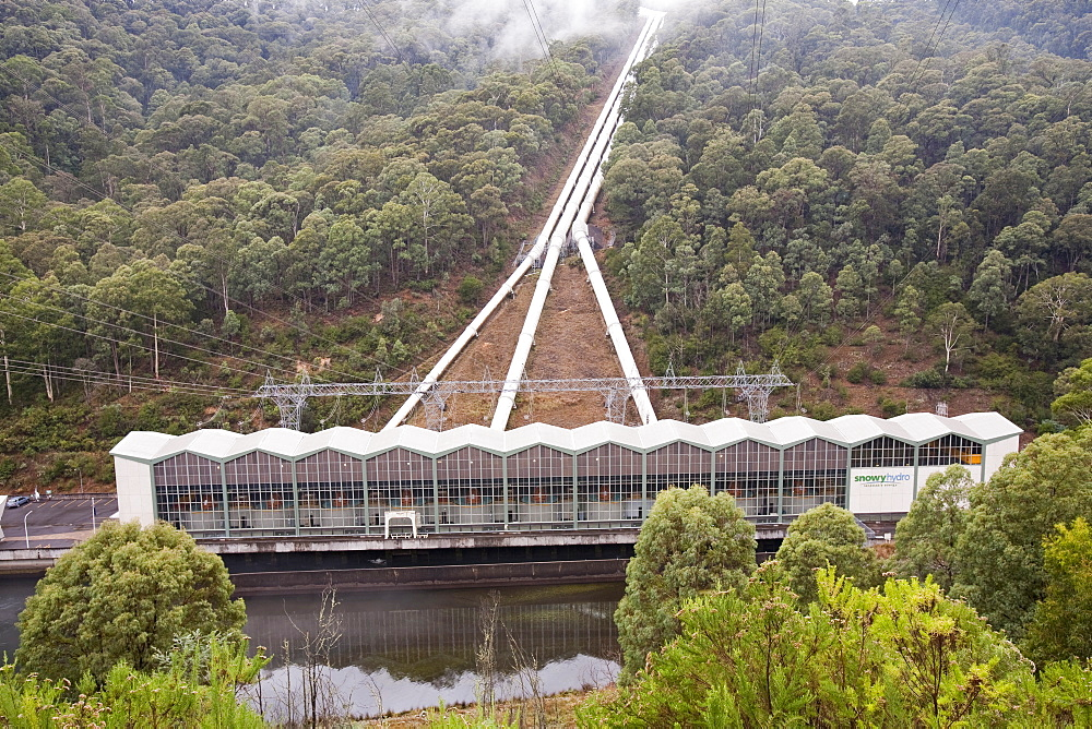 Murray 1 power station, Snowy Mountains, New South Wales, Australia, Pacific
