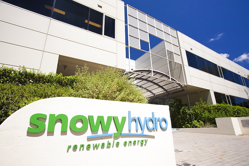 Snowyhydro buildings in Cooma, New  South Wales, Australia, Pacific