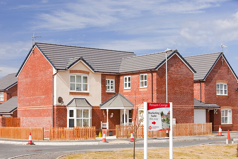 Pensarn Grange development on the outskirts of Towyn, North Wales, United Kingdom, Europe