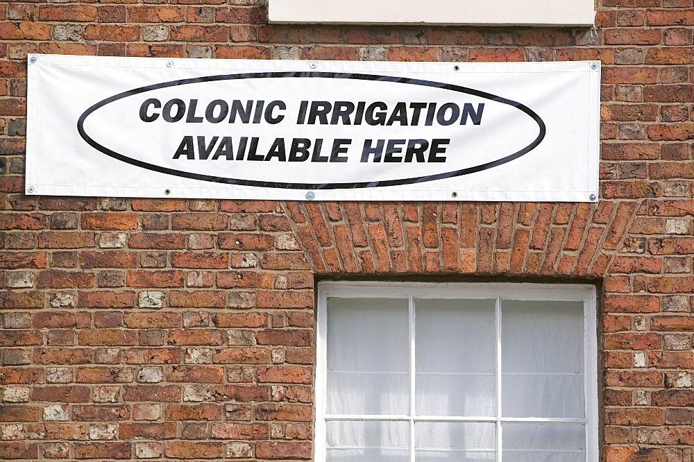 A colonic irrigation clinic in Carlisle, Cumbria, England, United Kingdom, Europe