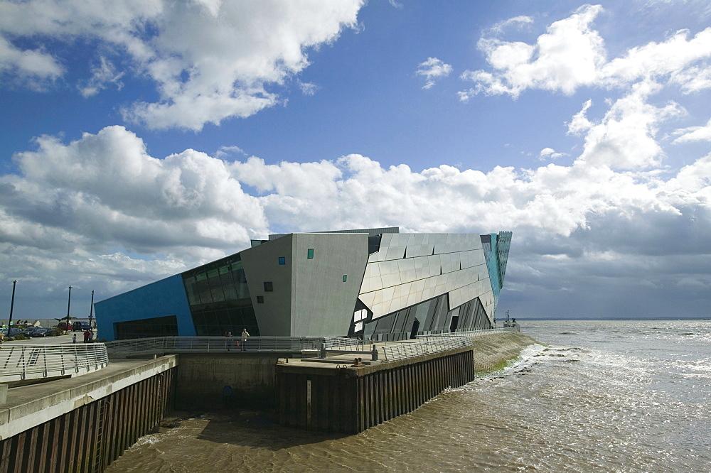 The Deep, Europe's deepest aquarium in Hull, England, United Kingdom, Europe