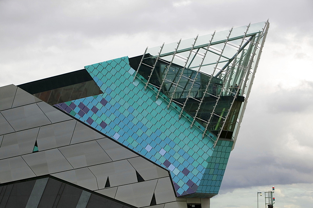 The Deep, Europe's deepest aquarium in Hull in Yorkshire, England, United Kingdom, Europe
