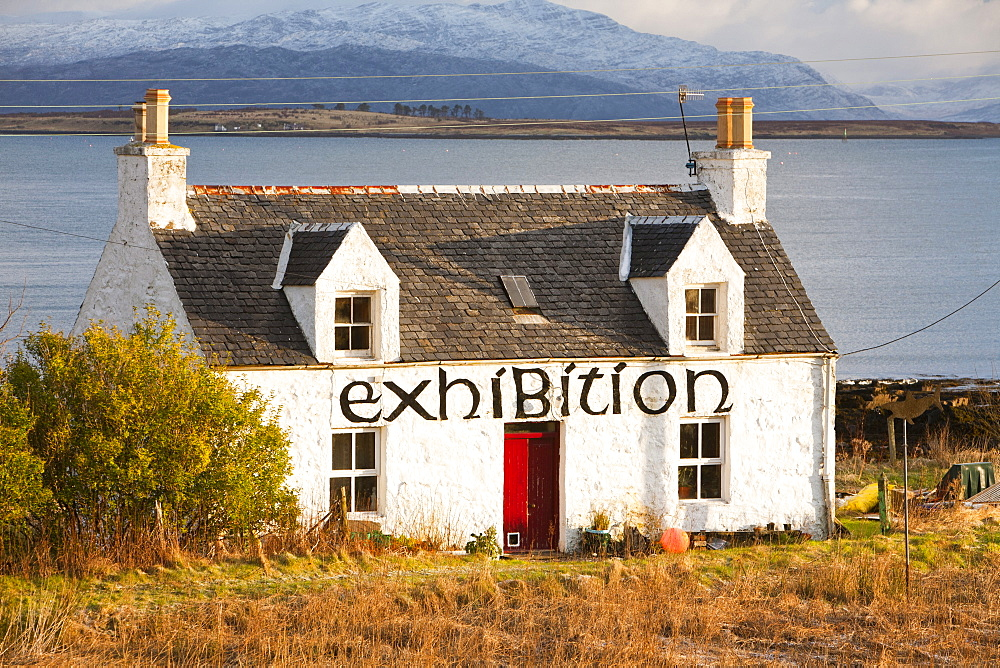 An artists gallery and exhibition in Broadford, Isle of Skye, Scotland, United Kingdom, Europe